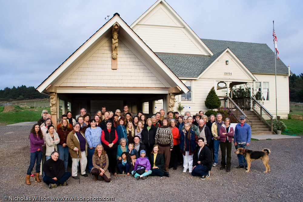Caspar Community Center group photo